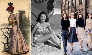 Những xu hướng thời trang có sức ảnh hưởng nhất 100 năm qua