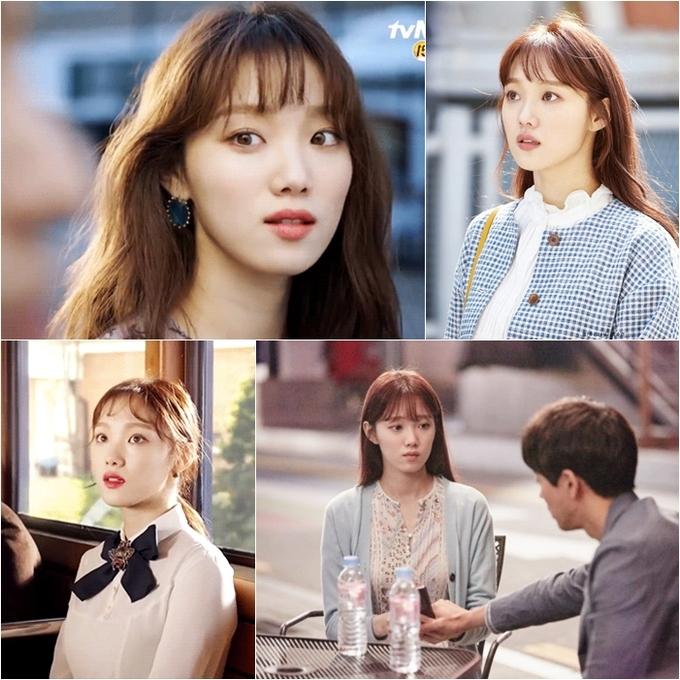 """<p> Nhiều khán giả đánh giá cao tạo hình lần này của """"tiên nữ cử tạ"""" khi cô nàng tái xuất trong <em>About Time </em>(tvN). Nhân vật Choi Michaela của nữ chính Lee Sung Kyung gắn liền với hình ảnh nữ tính, xinh đẹp. Kiểu tóc dài xoăn nhẹ, cắt mái thưa ngắn và nhuộm nâu hạt dẻ mang lại cho Sung Kyung vẻ đẹp dịu dàng, trẻ trung, khác hẳn với những kiểu tóc trước đây.</p>"""
