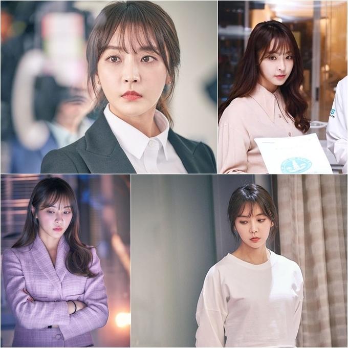 <p> Trong <em>Partner For Justice </em>(MBC), người đẹp Yung Joo Mi vào vai Eun Sol, nữ công tố viên có trí nhớ siêu phàm và khả năng biện hộ xuất sắc. Tạo hình của cô gắn liền với những bộ suit chỉn chu và kiểu tóc đơn giản. Với mái tóc cắt layer hơi lượn sóng và phần mái lưa thưa, dù buộc gọn gàng phía sau hay xõa nhẹ nhàng thì Yoo Mi vẫn rất xinh đẹp.</p>