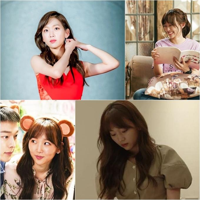 <p> Kiểu tóc của nữ diễn viên Jin Ki Joo trong<em> Come and Hug Me</em> cũng là một kiểu tóc xoăn nhẹ nhàng thường thấy. Bên cạnh đó, phần mái được cắt tỉa tự nhiên để có thể kết hợp nhiều kiểu, dù buông xõa hay rủ một bên đều phù hợp với hình ảnh nữ tính của nhân vật.</p>