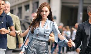 Jessica Jung tạo dáng chuyên nghiệp khoe thần thái sang chảnh