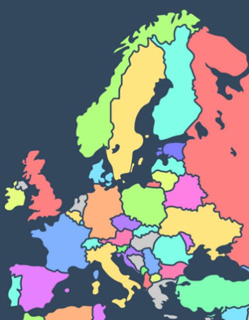 Người có IQ cao mới biết các quốc gia này nằm ở đâu? (4) - 2