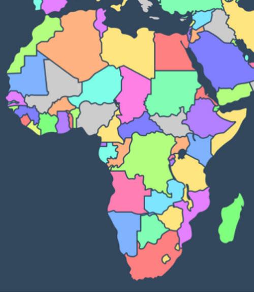 Người có IQ cao mới biết các quốc gia này nằm ở đâu? (3) - 2