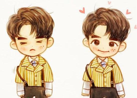 Nhìn hình chibi đoán tên thành viên Wanna One - 8