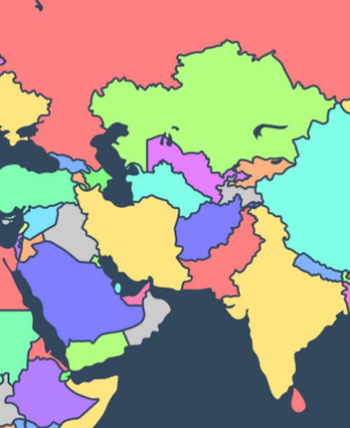 Người có IQ cao mới biết các quốc gia này nằm ở đâu? (4)