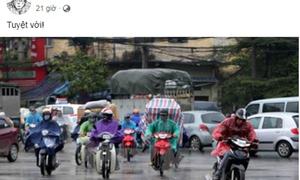 Bạn trẻ hò nhau 'dự báo thời tiết' gọi mưa về...