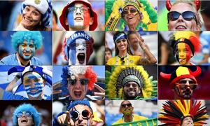 Trước vòng tứ kết, CĐV 8 'anh hào' World Cup 2018 nói gì?
