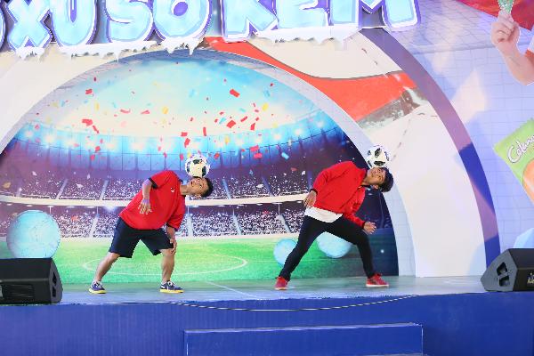 Những trò chơi mang đúng tinh thần bóng đá sẽ là nơi trải nghiệm thú vị cho giới trẻ Hà thành trong ngày 7/7.