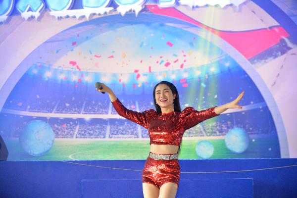 Nữ ca sĩ Hoà Minzy sẽ góp mặt vào chương trình tại Hà Nội ngày 7/7.