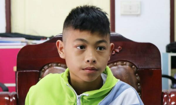 Cậu bé Thaweechai Nameng.Ảnh: Guardian