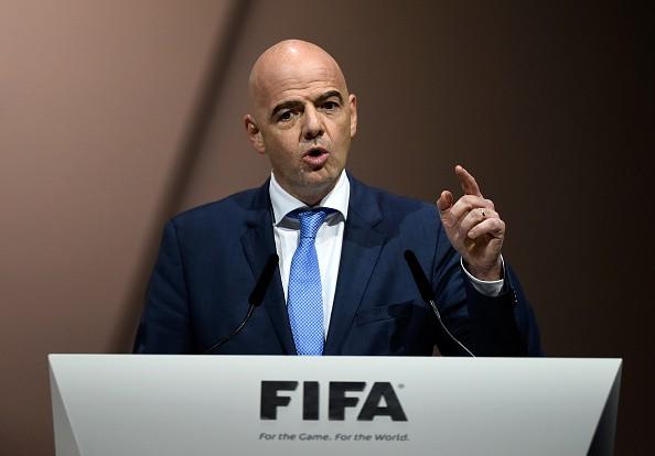Chủ tịch FIFA, ôngGianni Infantino.