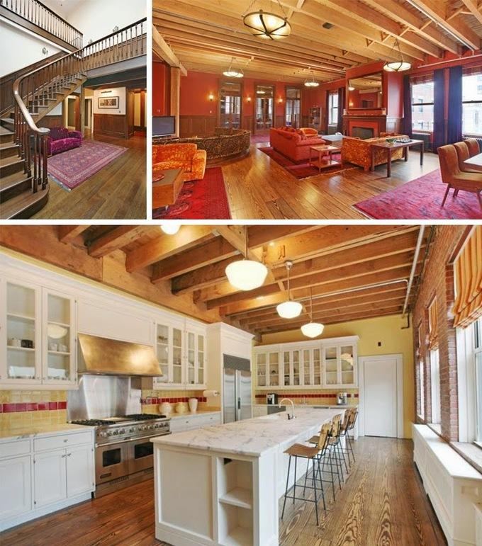 <p> Mặc dù sở hữu nhiều biệt thự, Taylor Swift chủ yếu sống tại ngôi nhà trị giá 20 triệu USD ở New York được mua vào năm 2014. Nữ ca sĩ được nhận xét khá nhanh nhạy trong lĩnh vực bất động sản khi mua 2 căn penthouse trong một tòa nhà tại khu Tribeca và cải tạo chúng thành căn hộ áp mái 2 tầng rộng 800m2, gồm 9 phòng ngủ, 9 phòng tắm, cầu thang rộng, phòng ăn sang trọng với gam màu đỏ chủ đạo.</p>