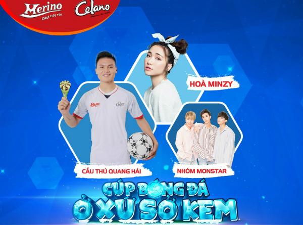 Các bạn trẻ vừa được chơi đã, vừa chụp ảnh cùng ngôi sao bóng đá Quang Hải.