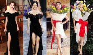 Không chỉ Hà Hồ, những mỹ nhân này cũng từng bị nghi ngờ mặc váy nhái