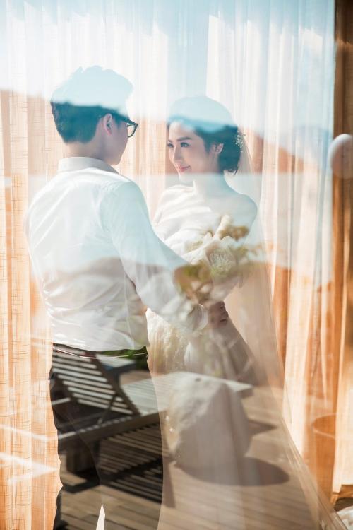 Ảnh cưới của Tú Anh được tiết lộ.