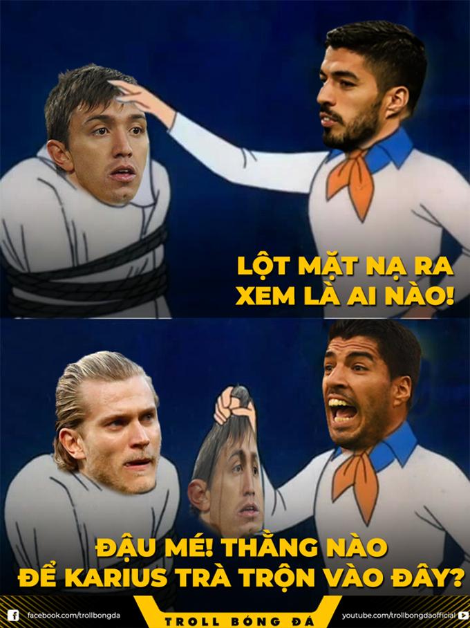 <p> Thánh nhập thế này thì Uruguay thắng sao nổi</p>