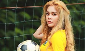 'Hot girl World Cup' Cao Diệp Anh: 'Đàn ông nhiều tiền trước sau cũng ngoại tình'