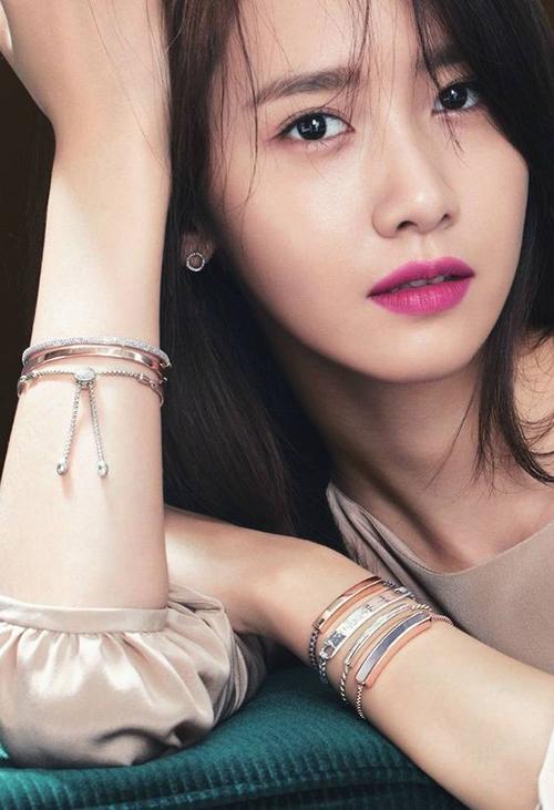 Yoon Ah được bình chọn là ngôi sao có nhân cách tốt nhất làng giải trí - 1