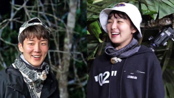 Hai idol là khách mời trên show thực tế sống trong rừng.
