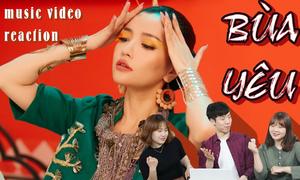 Xem MV 'Bùa yêu' người Hàn nói gì?