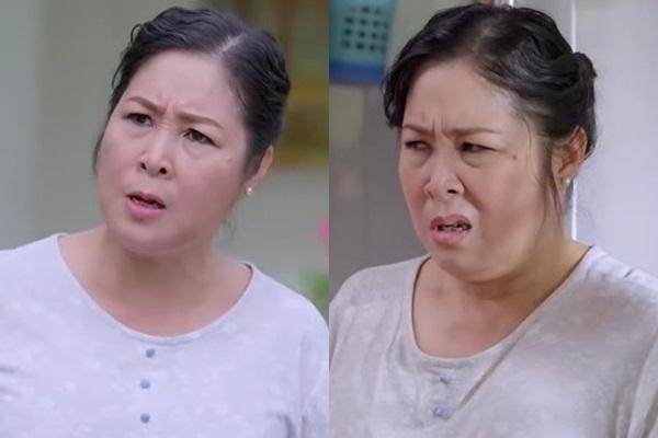 Nghệ sĩ Nhân dân Hồng Vân bị ghét khi đóng vai bà Mai trong phim quá đạt.