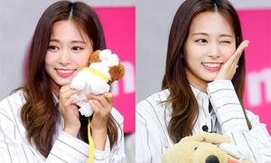 Tzuyu (Twice) lộ nụ cười lạ lẫm vì mới niềng răng