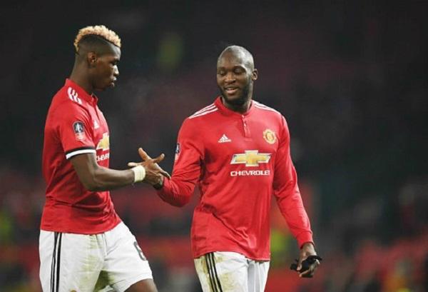 Paul Pogba và Romelu Lukaku là đôi bạn rất thân ở MU.