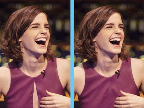 Căng mắt tìm điểm khác lạ của Emma Watson - 2