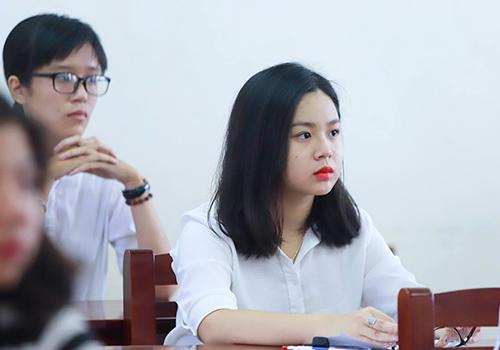 Thí sinh thi THPT quốc gia 2018 tại Đà Nẵng. Ảnh: VnExpress.
