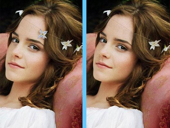 Căng mắt tìm điểm khác lạ của Emma Watson - 5