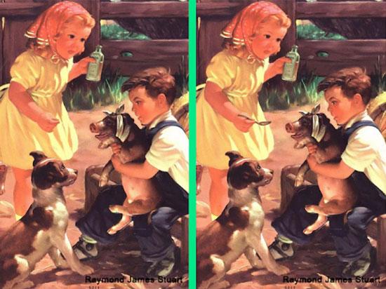 30 giây nhanh mắt tìm điểm khác biệt trong loạt tranh dễ thương - 6
