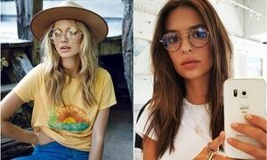 Mắt kính style thập niên 70 thành hot trend hè này