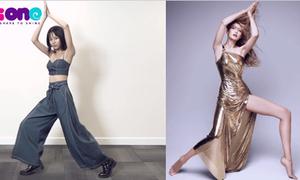 Thử thách Sao: Phí Phương Anh pose dáng 'thần sầu' giống Coco Rocha