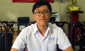 Nam sinh duy nhất điểm 10 Toán ở Sài Gòn chỉ tự học, không đi học thêm