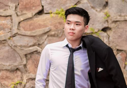 Lê Bá Hoàng - thủ khoa 29,55 điểm khối B của tỉnh Phú Thọ. Ảnh:NVCC.