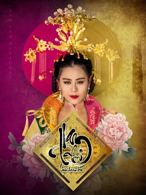 Tạo hình của Nam Thư trong dự án phim.