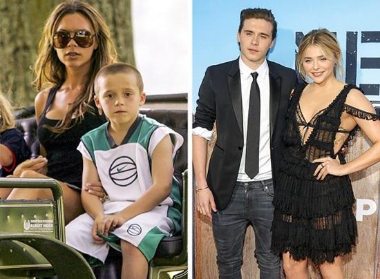Brooklyn Beckham hẹn hò với Chloe Moretz, nữ diễn viên đầy triển vọng. Giới truyền thông đều thấy rằng cô gái này có ngoại hình hao hao mẹ của Brooklyn, Victoria Beckham.