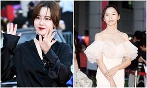 Sao dự thảm đỏ LHP Bucheon: Kẻ khoe thân, người trang điểm lỗi