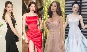 Váy hai dây - item được sao Việt diện 'từ thảm đỏ ra phố'