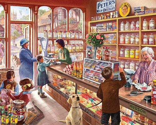 Cửa hàng kẹo ngọt - Bài test tiết lộ mức độ khôn lớn trong tâm hồn bạn
