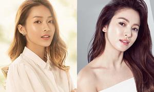 Nhan sắc như chị em của nữ chính 'Hậu duệ Mặt trời' bản Hàn và bản Việt