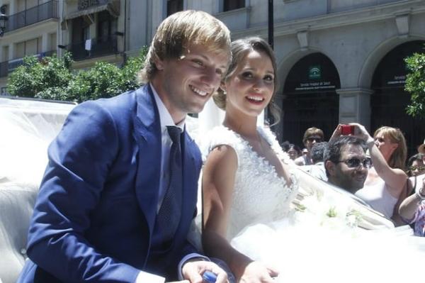 Đám cưới của cặp đôiMauri và Rakitic.