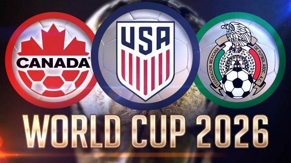 World Cup 2026 với 3 nước đồng chủ nhà gồm Mỹ, Canada và Mexico.