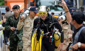 Thợ lặn tiết lộ tìm thấy đội bóng Thái Lan nhờ... mùi cơ thể