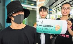 Tae Min (SHINee) bị hàng trăm fan 'phục kích' tại Đà Nẵng