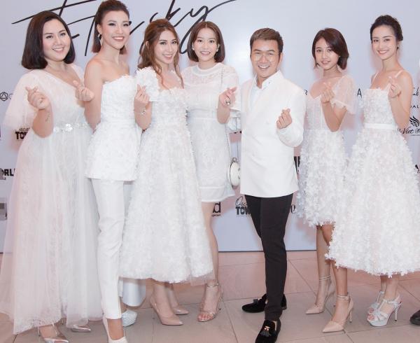 Họ được NTK Chung Thanh Phong lựa chọn tham gia trình làng bộ sưu tập Nàng Mây tại show thời trang diễn ra tại Đà Nẵng. Lần đầu tiên, anh giới thiệu các thiết kế trên quê hương của mình.