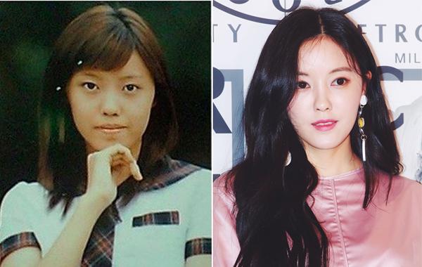 Sau những lùm xùm scandal bắt nạt, nữ thành viên quyến rũ nhất T-ara cũng vấp phải nghi án phẫu thuật thẩm mỹ. Trước đó, Hyo Min luôn là một trong những tượng đài sắc đẹp trong giới idol không chỉ bởi đường nét sắc sảo trên gương mặt mà còn nhờ những biểu cảm linh hoạt cô thể hiện.