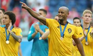 Giành hạng Ba, đội tuyển Bỉ vẫn được chào đón như những người hùng