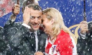 Những khoảnh khắc ấn tượng của Tổng thống Pháp và Croatia