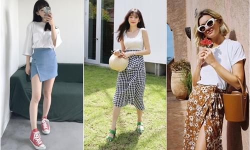 Wrap skirt - item đang được các nàng lăng xê nhiệt tình hè này